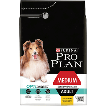 ​PURINA® PRO PLAN® Medium Adult Sensitive Digestion med OPTIDIGEST® Rig på lam