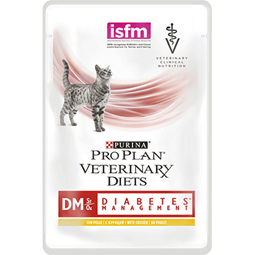 PURINA® PRO PLAN® VETERINARY DIETS Feline DM St/Ox Diabetes Management (Kylling)